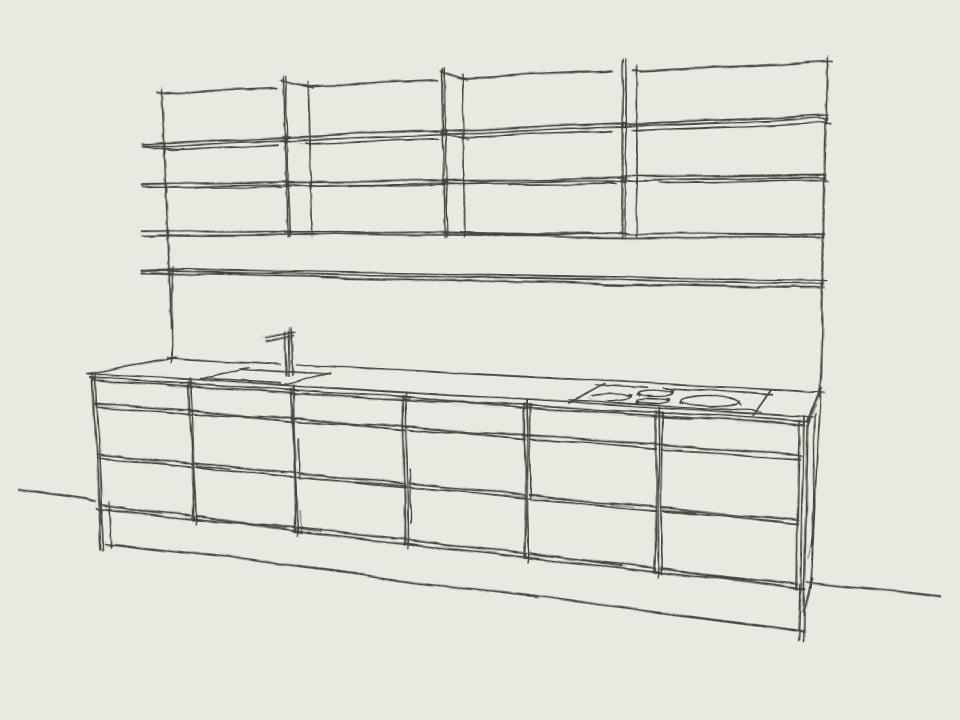Snedkerkøkken - indretningsarkitekt - woodform